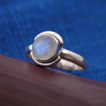 wholesale silver ring with stone