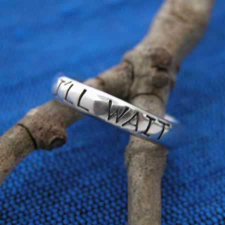 wholesale silver band ring