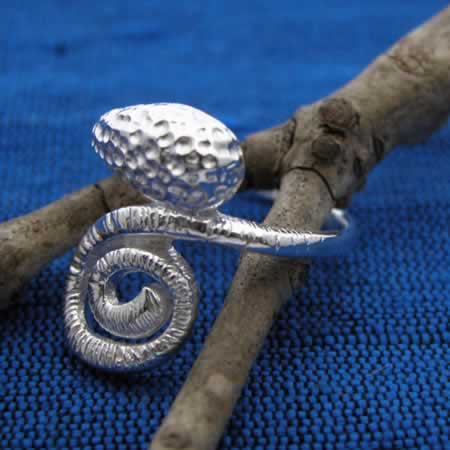 wholesale silver snake ring