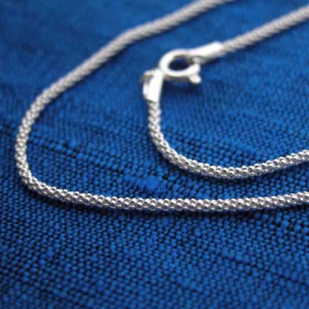 Wholesale sterling silver mini saku chain.