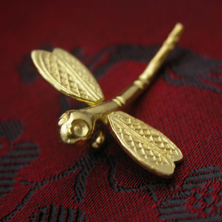 Wholesale hill tribe gold vermeil dragonfly.