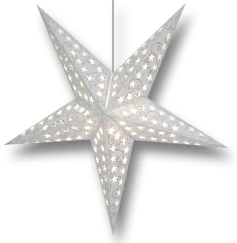 Star Lamp Image Glitter Swirl