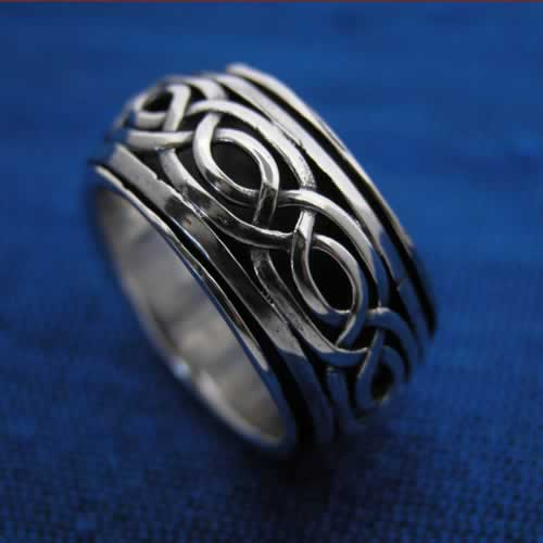 wholesale celtic spinning ring